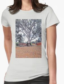 Beauty in the Outback Womens Fitted T-Shirt