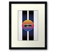 Retrowave Controller Framed Print