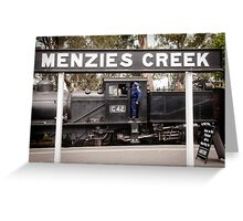 G42 at Menzies Creek -1004 Greeting Card