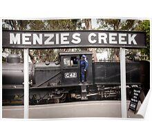 G42 at Menzies Creek -1004 Poster