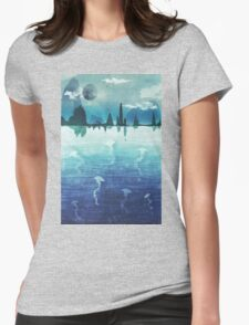 Blue Horizon Womens Fitted T-Shirt