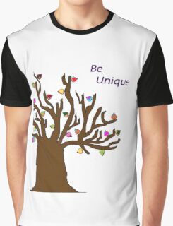 Be Unique; Be Yourself Graphic T-Shirt