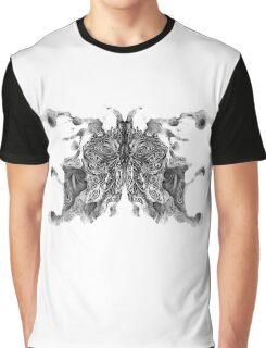 Cosmic Inkblot Graphic T-Shirt