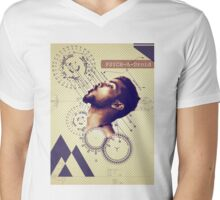 Stay High - Psych_A_Droid Mens V-Neck T-Shirt