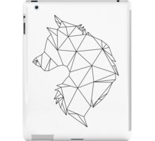 Geometric Wolf iPad Case/Skin
