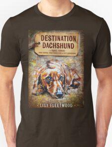 Destination Dachshund Book Cover Unisex T-Shirt