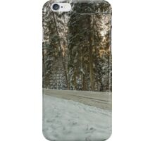 Fforest in winter iPhone Case/Skin