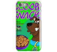 scooby snacks iPhone Case/Skin