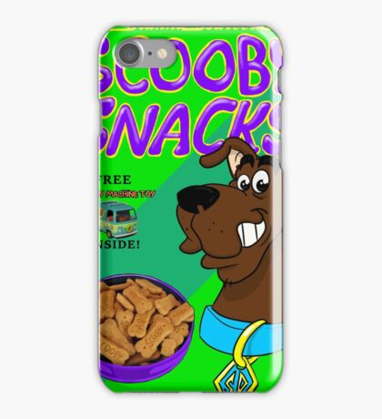 scooby snacks iPhone Case/Skin