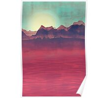 Distant Mountains Poster