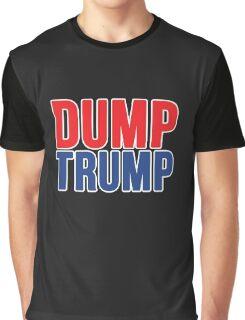 DUMP TRUMP Graphic T-Shirt
