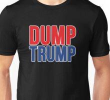 DUMP TRUMP Unisex T-Shirt