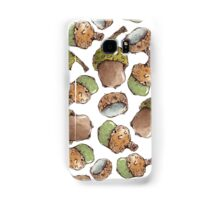 Seamless Pattern with Watercolor Acorns Samsung Galaxy Case/Skin