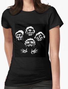 golden II Womens Fitted T-Shirt