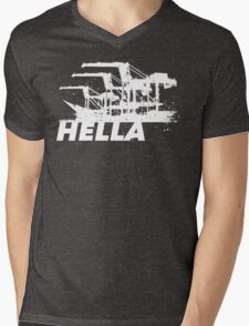 Hella Mens V-Neck T-Shirt