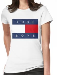 F*CK BOYS Womens Fitted T-Shirt
