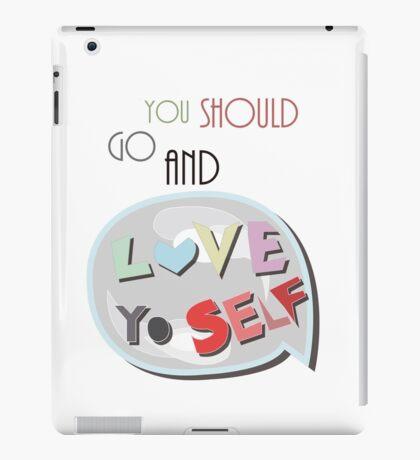 Love Yourself iPad Case/Skin