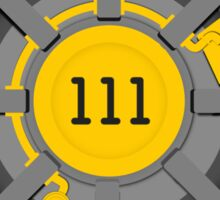 Vault 111 Sticker
