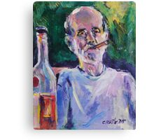Cuban portrait Canvas Print