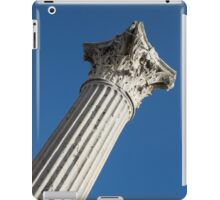 Classical Corinthian Column - Ancient Pompeii Graceful Beauty Right iPad Case/Skin