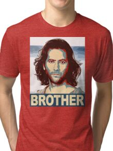 Lost - Desmond Brother Tri-blend T-Shirt