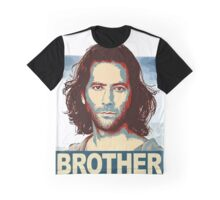 Lost - Desmond Brother Graphic T-Shirt