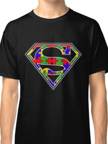 Autism Awareness Super Hero Shirt Classic T-Shirt