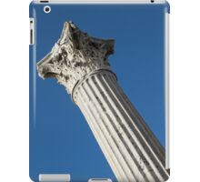 Classical Corinthian Column - Ancient Pompeii Graceful Beauty Left iPad Case/Skin