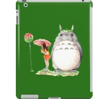 grown up totoro iPad Case/Skin