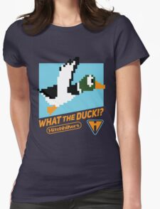 What the Duck!? (Game Cover) Womens Fitted T-Shirt