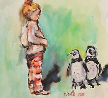 Penguin princess by christine purtle