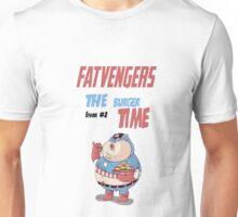 FATVENGERS -  CAPTAIN AMERICA Unisex T-Shirt