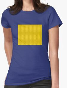 Lego (yellow) Womens Fitted T-Shirt