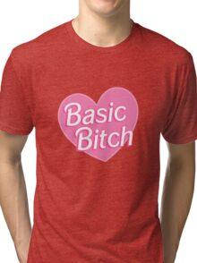 Basic Bitch Purple Tri-blend T-Shirt