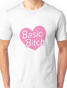 Basic Bitch Purple Unisex T-Shirt