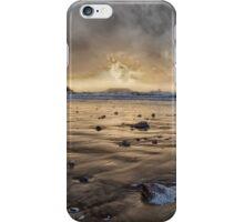 Thunder at Rhossili Bay iPhone Case/Skin