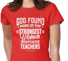 teacher Womens Fitted T-Shirt