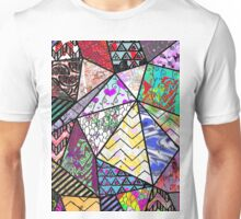 Triangler shaped mix up  Unisex T-Shirt