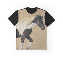 """Oz"" - Trekking horse from La Vallée des Cerfs in France Graphic T-Shirt"