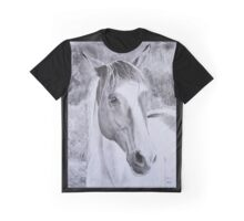 """Opium"" Trekking horse from La Vallée des Cerfs in France  Graphic T-Shirt"