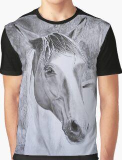 """Opium"" Trekking horse from La Vallée des Cerfs in France  Graphic T-Shirt"