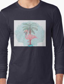 Florida Fan Coral Long Sleeve T-Shirt