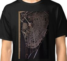 Spider Web In The Corner Classic T-Shirt