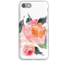 Watercolor Flower Bouquet  iPhone Case/Skin