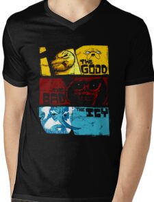Adventure Time Jake And Finn The Good The Bad Mens V-Neck T-Shirt