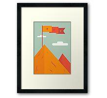 Mountain Claim Framed Print
