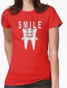 Smile Please Womens Fitted T-Shirt