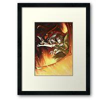 Dungeon Master Matt Framed Print