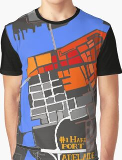 #ihartPortAdelaide - The Map Graphic T-Shirt