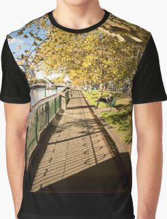 Autumn afternoons - Southbank, Melbourne Australia Graphic T-Shirt